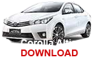 Corolla Altis - Download Brochure