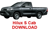 Hilux S Cab 1 - Download Brochure