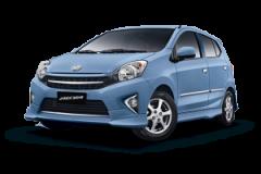 Toyota Agya Bali Biru Cerah - Agya