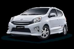 Toyota Agya Bali Putih - Agya
