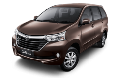 Toyota Avansa Bali Dark Brown Mica Metallic - Grand New Avanza