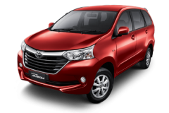 Toyota Avansa Bali Dark Red Mica Metallic - Grand New Avanza