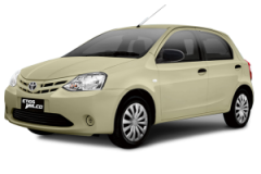 Toyota Etios Bali Beige Metallic - Etios