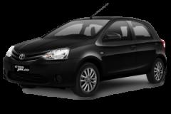 Toyota Etios Bali Black Mica - Etios