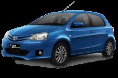Toyota Etios Bali Blue Metallic - Etios