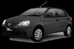 Toyota Etios Bali Grey Metallic - Etios
