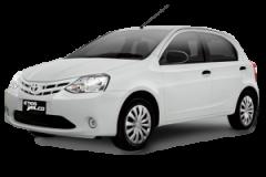 Toyota Etios Bali Silver Metallic - Etios