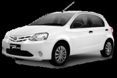 Toyota Etios Bali White - Etios