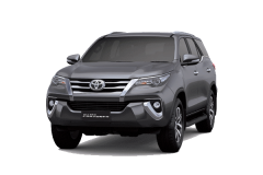 Toyota Fortuner Bali Dark Grey Mica Metallic - All New Fortuner