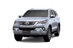 Toyota Fortuner Bali Silver Metallic - All New Fortuner