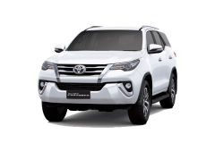 Toyota Fortuner Bali Super White - All New Fortuner