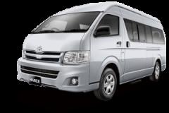 Toyota Hiace Bali Silver Metallic - Hiace