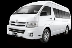Toyota Hiace Bali White - Hiace