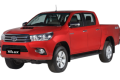 Toyota Hilux Double Cabin Bali Crimso Red - Hilux Double Cabin