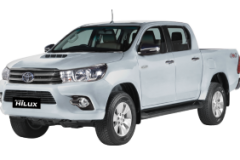 Toyota Hilux Double Cabin Bali Silver Metallic - Hilux Double Cabin