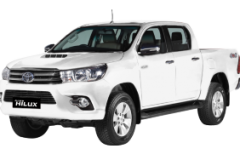 Toyota Hilux Double Cabin Bali Super White - Hilux Double Cabin