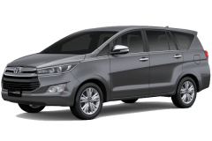 Toyota Inova Bali Dark Grey Mica Metallic - All New Kijang Innova