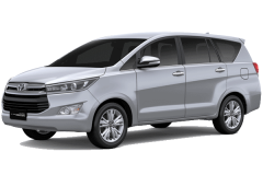 Toyota Inova Bali Silver Metallic - All New Kijang Innova