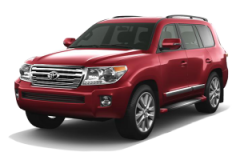 Toyota Land Cruiser Bali Dark Red Mica Metallic - Land Cruiser