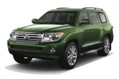 Toyota Land Cruiser Bali Green Mica Metallic - Land Cruiser