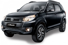 Toyota Rush Bali Black Mica Metallic - New Rush