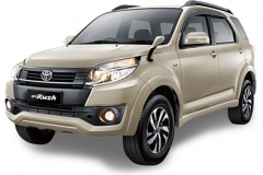 Toyota Rush Bali Champange Metallic - New Rush