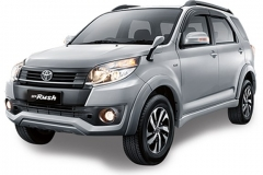 Toyota Rush Bali Silver Mica Metallic - New Rush