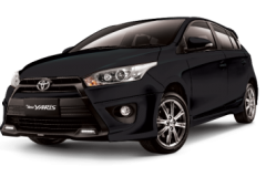 Toyota Yaris Bali Black Mica - All New Yaris
