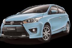 Toyota Yaris Bali Frozen Blue Metallic - All New Yaris