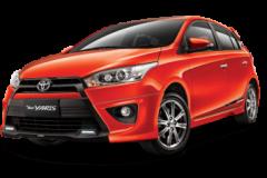 Toyota Yaris Bali Orange Metallic - All New Yaris