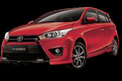 Toyota Yaris Bali Red Mica Metallic - All New Yaris