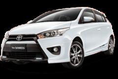 Toyota Yaris Bali Toyota Yaris Bali White - All New Yaris