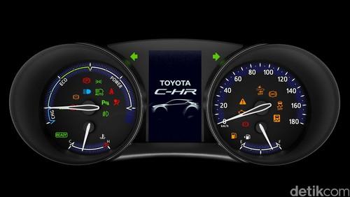 Spesifikasi Lengkap Toyota C HR2 - Spesifikasi Lengkap Toyota C-HR