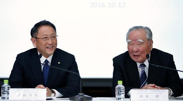 Kerjasama Toyota dan Suzuki
