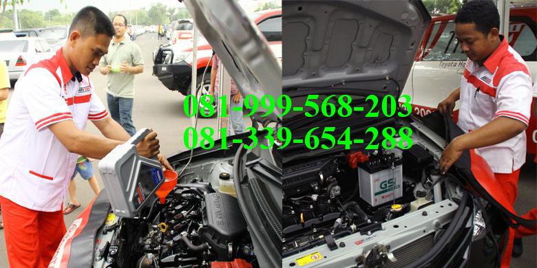 Service Panggilan Mobil Toyota Ke Rumah Denpasar Bali - THS Toyota Bali - Layanan Service Mobil Ke Rumah