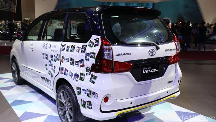Toyota memamerkan perubahan sedikit Avanza - Toyota memamerkan perubahan sedikit Avanza