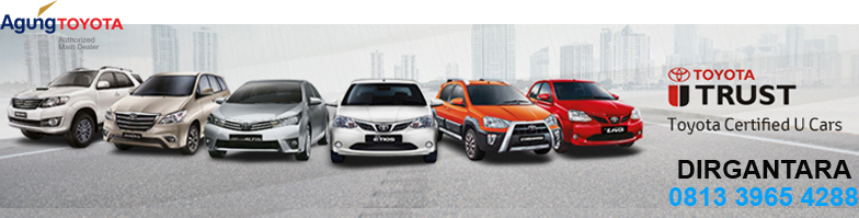 Toyota Trust Jual Mobil Lama untuk Beli Toyota Baru di Agung Toyota Bali - Toyota Trust, layanan trade-in mobil di diler Agung Toyota Bali