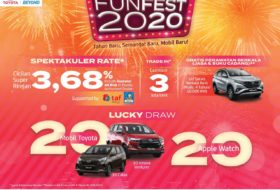 Funfest 280x190 - Promo Kredit Mobil Toyota Bali di Januari 2020