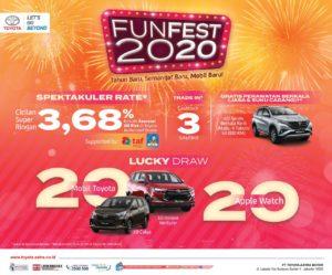 Funfest 300x249 - Promo Kredit Mobil Toyota Bali di Januari 2020