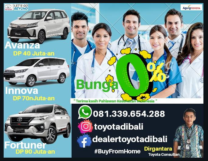 Dirgantara Brosur - Promo Agung Toyota Bali Di Bulan Suci Ramadhan Tahun 2020