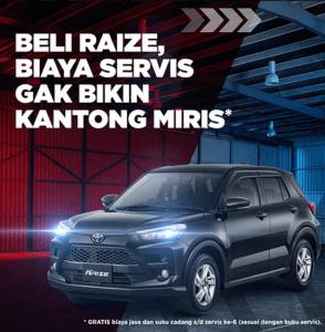 Beli Toyota Raize tidak perlu pusing biaya servis 294x300 - Beli Toyota Raize, tidak perlu pusing biaya servis